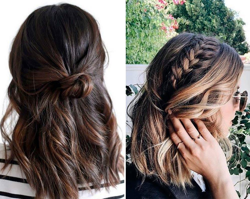 Peinado para pelo medio corto