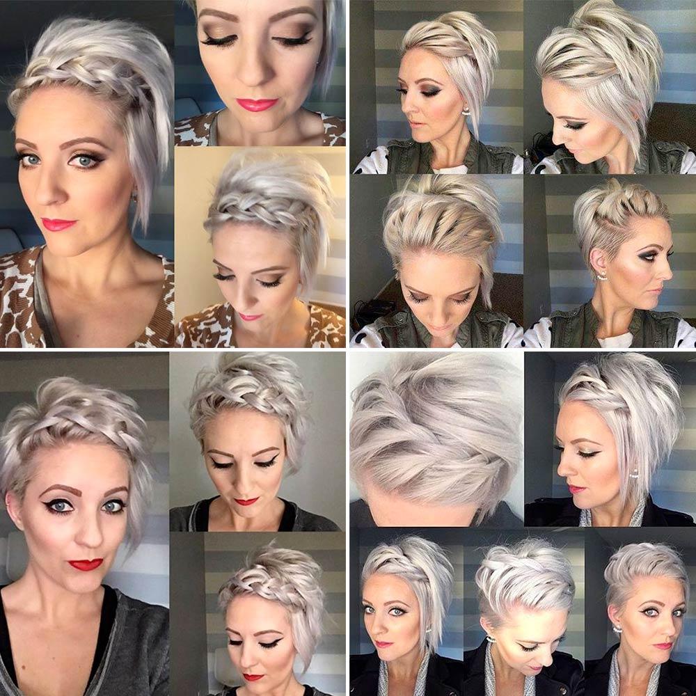 Peinados Elegantes Y Recogidos Cortos Y Medianos Para Pelo Liso