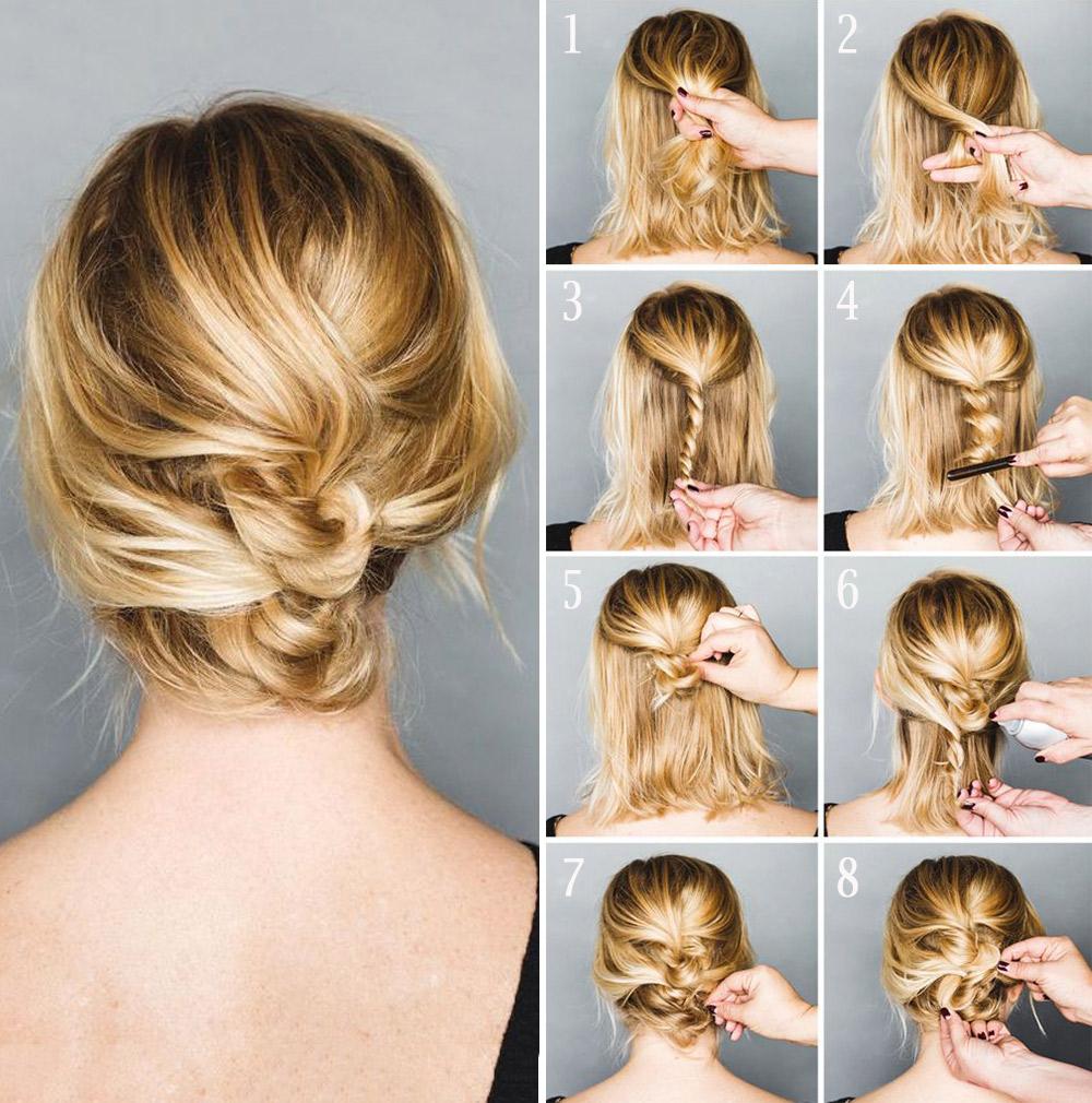 Tutorial de peinado sencillos