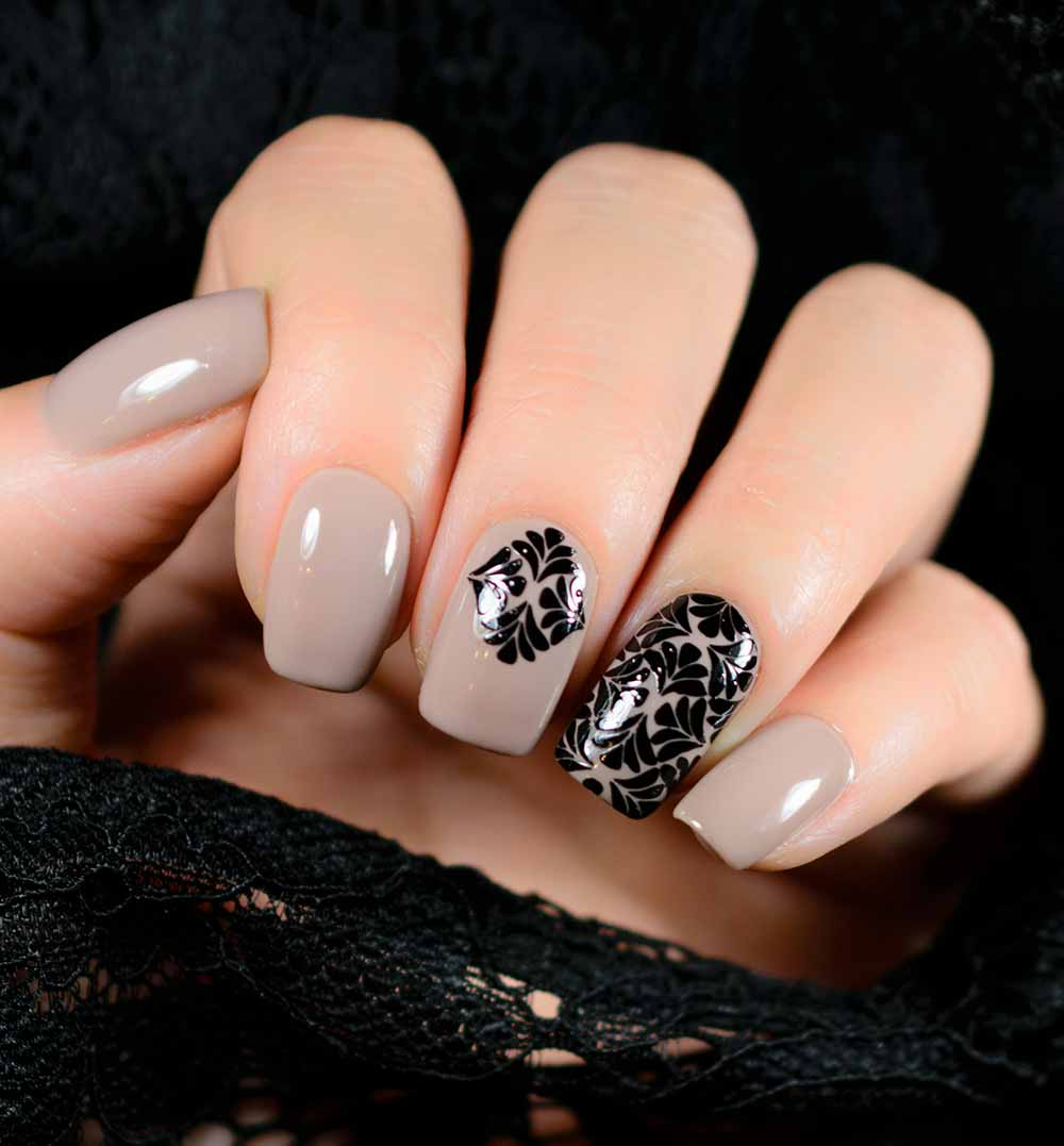 U as de gel y nail art tendencias 2018 ideas originales khalphora - Colores de moda para unas ...