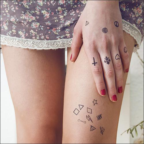 100 Tatuajes Pequeños Para Mujer Y Hombre Y Sus Significados