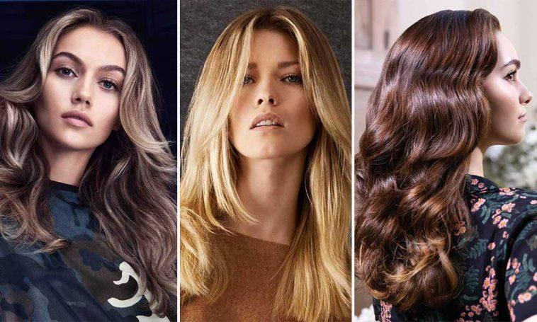 Cortes De Pelo Largo 2019 Peinados Y Colores De Moda Khalphora