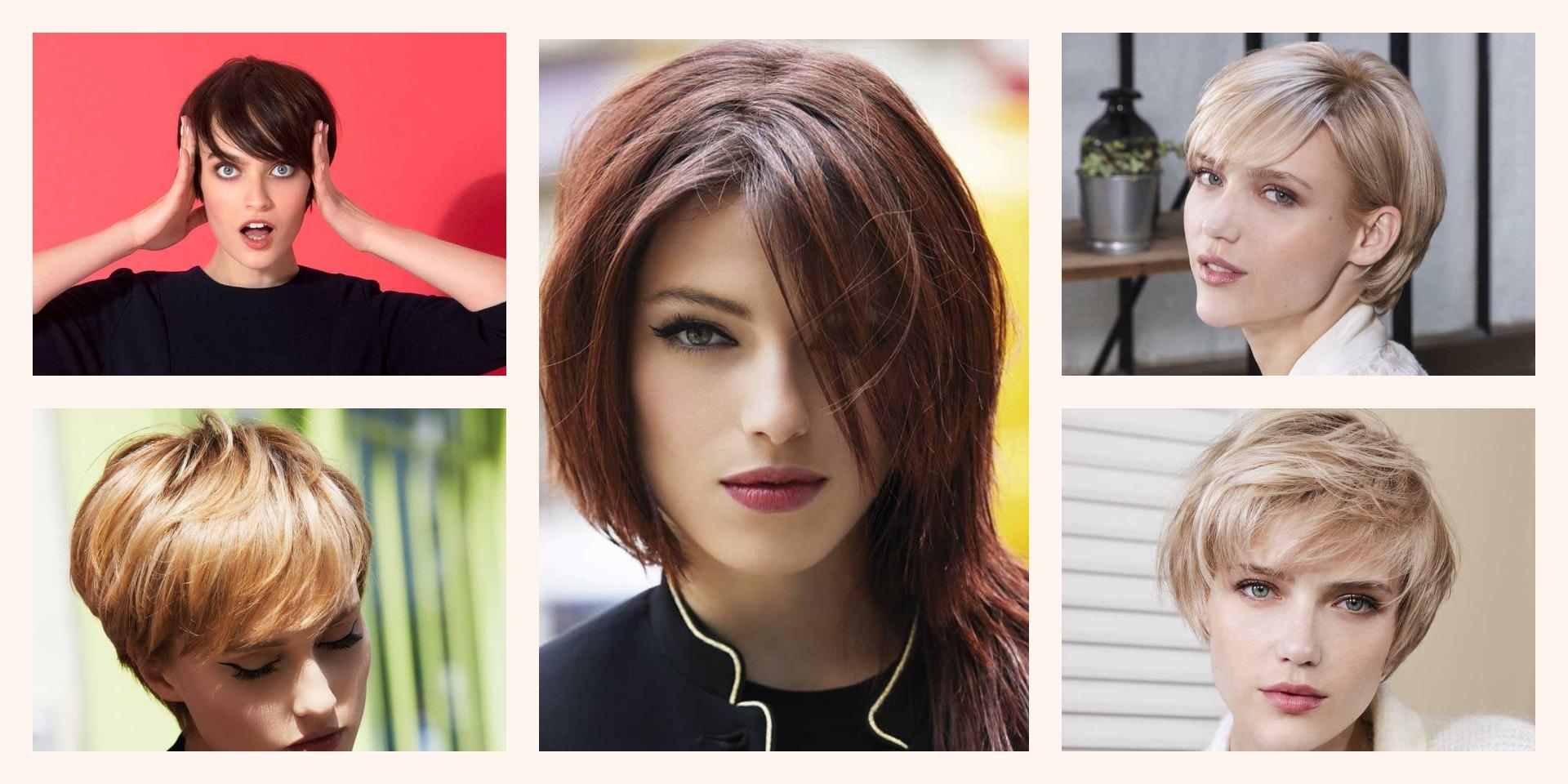 Cortes de pelo corto y color 2019
