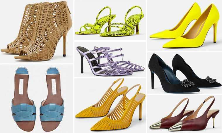 Zara Primavera Colección Verano 2019 De Zapatos Khalphora TZwxSq70Wx