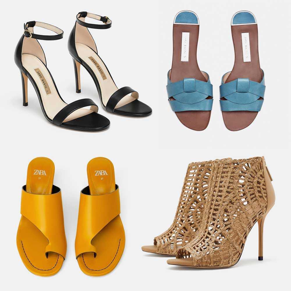 80e14df3cca Las sandalias de la colección de calzado Zara Verano 2019 se caracterizan  por su puntera redondeada y su diseño clásico. Los modelos de tacón de  aguja se ...
